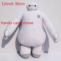 Big hero 6 30cm baymax plush dolls baymax plush robot stuffe...