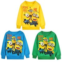 Baby boys Despicable Me T- shirts 2015 new children cartoon D...