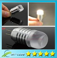 Retail Free shipping Led light C0B 3W  6W DC 12V G4 LED Corn...