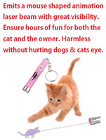 Free Shipping !!! Pet Cat Play Toy LED Laser Pointer Light w...