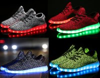 DORP EXPÉDITION 350 LED Stanly Chaussures Smithing pour WomenMen éclairer Chaussures Casual USB Charger 7 couleurs Lumineux Basket Femme LED Trainers