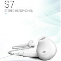 hb écouteurs stéréo 3,5 mm Bass In-Ear drive-by-wire Earphone Avec Pour Iphone 4s 5s 6 Samsung s6 s7