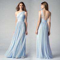 Wholesale Ice Blue Chiffon Bridesmaid Dresses - Buy Cheap Ice Blue ...
