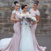2015 New Fashion Bridesmaid Dress with Cap Sleeve Free Shipp...