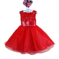 New Arrivals Girls Christmas Party Dress New Year girls even...