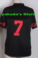 Wholesale 2015 new Player Athletic Black Elite Football Jers...