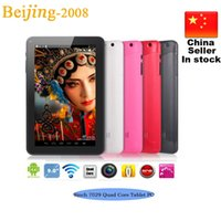 9 Inch7029 quad core Tablet Pc 512M 8GB Memory Android 4. 4 H...