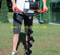 52cc 3. 0kwGround Drill Earth Auger Hole Digger Garden Tools ...