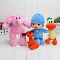 Pocoyo Elly & Pato & POCOYO & Loula Stuffed Plush Toys Good ...