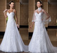 spagetti strap wedding dresses