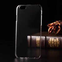 Pour iPhone 7 7 plus Crystal Clear Case Ultra-transparent Transparent PC Housse de protection pour iPhone 6 6S plus 5 5S SE