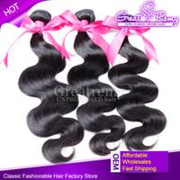 8- 34inch Cheap Brazilian Hair Remy Human Hair Extensions Bod...