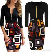2015 New Women Casual Dress Vintage Digital Print Colorblock...