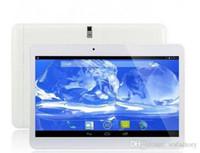 Quad core 10 pouces MTK6582 Android 4.4 2G + 16G téléphone 3G appeler Tablet PC GPS bluetooth double Tablets caméra avec SIM phablet