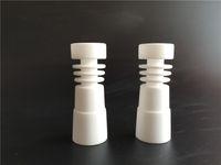2015 CNCamille Clou en céramique en gros sans dents - Direct injection de conception s'adapte à la fois 14,4 mm joints en verre mâle et 18,8 mm mâle joint en verre