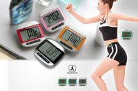 Multi-Function Display LCD a schermo grande punto Calorie Counter Walking Motion Tracker Run Distanza Fitness Sport Contapassi Y0095