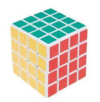 Free shipping! ShengShou III 4x4x4 Spring Magic Cube White E...
