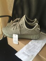 (With Box Receipt) kanye west boost 350 Moonrock Men Women A...