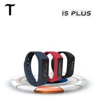 Excelvan I5 Plus Смарт браслет Bluetooth 4.0 Водонепроницаемый сенсорный экран Фитнес Tracker Здоровье Wristband сна монитор Смарт часы