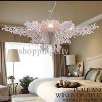 Angel wings of droplight Pendant Lamps AC220- 230V 110V 30W h...