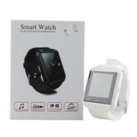 2016 u8 montre élégante Mode Casual Android Watch Digital Sport Poignet LED Paire de montres pour iOS Téléphone Android U8 DZ09 U80 Smartwatch