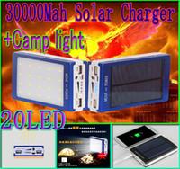 30000mah solar 20led camping light charger 20 led 30000 mah ...