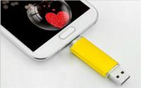 30шт ePacket / пост 100% реальная емкость 2GB 4GB 8GB 16GB 32GB 64GB 128GB 256GB OTG USB флэш-накопитель Memory Stick с ОРР Упаковка
