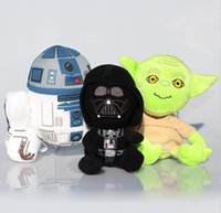 Star Wars Plush Dolls 19- 23cm Darth Vader Yoda R2- D2 Plush D...