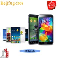 1: 1 S5 i9600 Android 4. 4 5. 1 inch Smartphone MTK6572 show 4G...