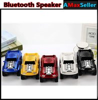 High quality DS- 396 Cool Car Model Speakers Portable Wireles...