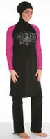 Vestido muçulmano SHARIFA Ganzkörper Badeanzug Tesettür Mayo Abaya Full Cover Swimwear Burkini