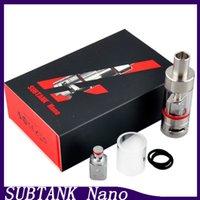 2015 Kanger Subtank Nano Atomiseur 3.0ml Kangertech Subtank Nano Clearomizer Kanger Pyrex réservoir Subtank Nano OCC Coil atomiseur 0266004-1