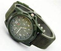 Gemius Army Watch nouvelle mode TRENDY SPORT MILITAIRE STYLE Montre armée suisse montres à quartz analogiques luxe