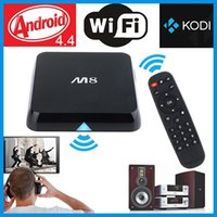 Android TV Box M8 S805 Airplay TV Channels Programs Quad Cor...