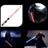 Зорн-световым Star Wars The Force Awakens Люк SkywalkerAnakin Дарт Вейдер FX Светодиодный электронный LightSaber Ролевая игра Toy Звук