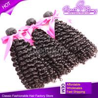 "4pcs lot Curly Brazilian Virgin Human Hair Weave 8"" - 30&..."
