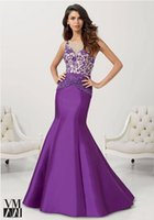 New Arrival 2015 Distinctive Mermaid Satin With Embroidery B...