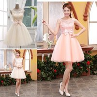 Hot Selling Lace Tulle A Line Homecoming Dresses 2015 Sweet ...