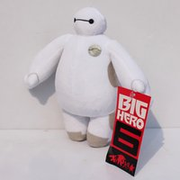 New Big Hero 6 Baymax Robot Stuffed Plush Animals Toys 18CM ...