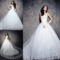 2015 Dubai Ball Gown Wedding Dresses For India Arabic Saudi ...