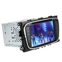 """7 """"lettore DVD di navigazione GPS in dash Radio Doppia 2 DIN Car PC Unità stereo testa per Ford Focus Mondeo S-max Galaxy Kuga K1990"""