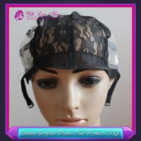 Cheap Machine made wig cap for making wig 5 pcs  lot With Ad...