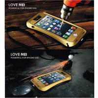LOVE MEI Defender Cover For iPhone 5 Powerful Shockproof Wat...