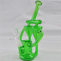 "Inline Gridded Perc Water Pipes Bongs 9"" inch Twincycle..."