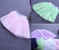 NEW ARRIVAL baby girl kids sequin skirt sparkling skirt lace...