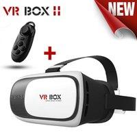 2016 New VR Box 2.0 upgrated Version VR Réalité Virtuelle Lunettes 3D Rift Google Carton pour 4.0