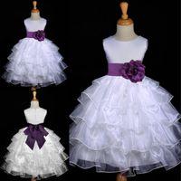 New Arrival Lovely Flower Girls' Dresses Ball Gown Jewe...