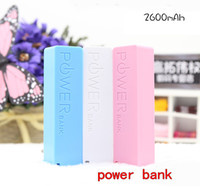 Мобильное зарядное устройство банк 2600 мАч парфюмерный секция портативный USB зарядное устройство резервного копирования iPhone смартфон HTC Samsung Такие, как общая