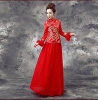 2015 Winter Warm Women Chinese Traditional Cheongsam Wedding...