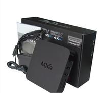 MXQ MXG MXS TV BOX Amlogic S805 Quad Core Android 4.4.2 ротацию ТВ каналы Программы Media Player